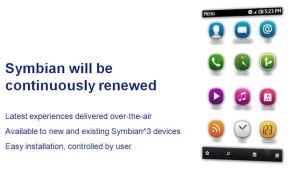 Symbian will be continously renewed