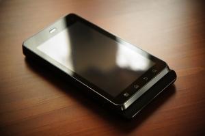 Motorola XT860: devant